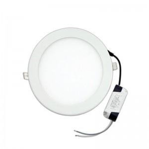 FERRARA 145-68010 Φ225 20W 6500K Φωτιστικό Led Slim Χωνευτό Λευκό