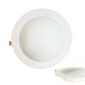 EUROLAMP 145-68041 LED SMD Φ225 30W 4000K Φωτιστικό Χωνευτό Έμμεσου Φωτισμού