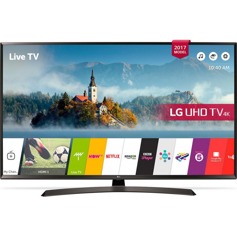 """ΤΗΛΕΟΡΑΣΕΙΣ LG 49UJ635V TV49"""" 4K ULTRA HD SMART 1600Hz ΕΩΣ 12 ΔΟΣΕΙΣ"""